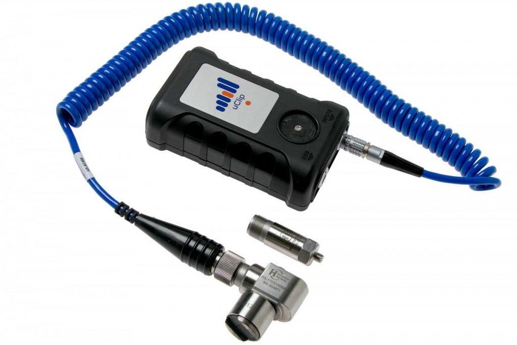 uClip portable vibration collector
