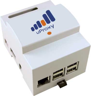 uProxy PLC transmitter to router